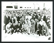 25 Champs in Ring 1950 's Press Photo Boxing Champions