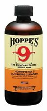 Hoppe's No. 9 Gun Bore Cleaning Solvent, 1Pint Bottle, New, Free Shipping