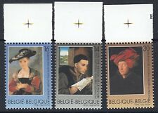 BELGIUM : 1996 Paintings by Belgian Artists  set SG 3351-3 MNH