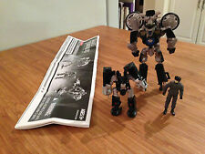 Transformers DOTM Human Alliance Autobot Tailpipe and Pinpointer (2011).
