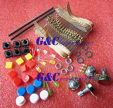 Electronic Parts Pack KIT for ARDUINO component Resistors Switch Button M94