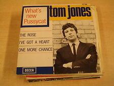 45T EP / TOM JONES - WHAT'S NEW PUSSYCAT