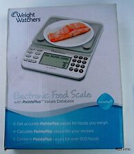 WEIGHT WATCHERS ELECTRONIC FOOD SCALE W/ POINTS PLUS DATABASE WITH Weight Watche