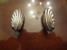 SPRATLING STERLING SILVER CLIP ON EARRINGS-MADE IN MEXICO-