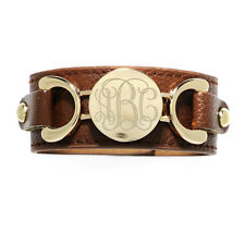 Modern Trendy Adjustable Snap Button Personalize Fashion Leather Cuff Bracelet