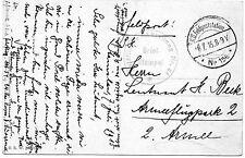 Feldpost AK Südarmee 1915 Flieger Abt. 54 Stanislau 1.WK