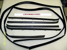 81 - 87 CHEVY GMC TRUCK WINDOW WEATHERSTRIP KIT