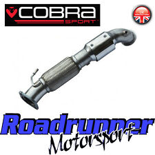 "FD42 Cobra Sport Focus ST250 MK3 3"" Sport Cat Downpipe 200Cell Stainless Exhaust"