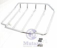 Top Rail Chrome metal luggage rack fit Harley Davidson Tour pak Razor Chopped