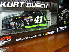 #41 Kurt Busch 2016 MONSTER ENERGY 1/24 FREE SHIP 1/745