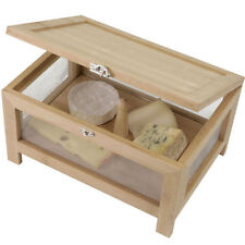 BC/CHES Cheese Storage Larder Chest Box with Removable Tray