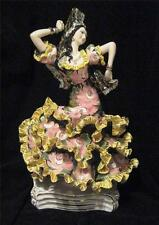 "Large c1950 Italy Pottery Spanish Dancer - HUGE 19.5"" Poss LENCI Artist"