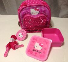 Hello Kitty Bow-Tie  Lunch Bag With BPA- Free Container .