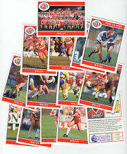 Merlin Rugby League Collection 1991 Full Team Sub Set of 14 Wigan Cards freepost