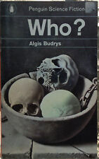 Penguin Book 2217 Who? by Algis Budrys 1964 Chilling Cold War Sci Fi Thriller
