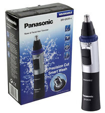 New Panasonic ER-GN30-K Nasal Trimmer Nose & Ear Hair Battery Operated Clippers