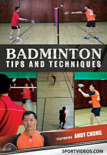 Badminton Tips and Techniques DVD