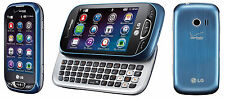 LG Extravert 2 VN280 Blue (Verizon) Qwerty Touch Screen Basic Cell Phone Grade C