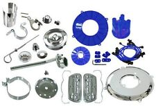 VW Bug Engine Dress Up Kit (Blue-Chrome) EMPI 8654 Type 1 & 2