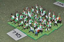 20mm napoleonic italian infantry plastic 36 figures (7983) painted