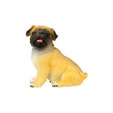 PUG DOG FIGURINE.LIFELIKE FIGURE STATUE.CUTE LITTLE COLLECTIBLE GIFT 6313S