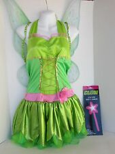 DISNEY ADULT TINKERBELL FAIRY COSTUME SIZE LARGE JUNIOR