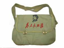 "Chairman Mao ""Service to the People""  Olive Drab Messenger Bag"
