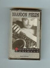 BRANDON FIELDS - EVERYBODY'S BUSINESS - CASSETTE - NEW