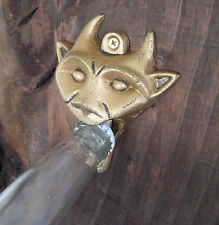 "Gargoyle Beer & Soda Bottle OpenerBar Tool 4"" Wall Mount Devil Occult Goth Nice"