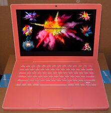 Pink# APPLE MACBOOK 13 POTABLE LAPTOP BUNDLE 4GB New 500GB 0.5TB Ai WiFi Portáti