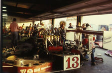 1979 Randolph Townsend #13 - Garage @ Can-Am Riverside - Vtg 35mm Race Negative