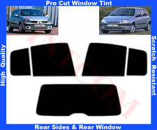 Pre-Cut Window Tint Renault Clio 5D 1999-2005 Rear Window & Rear Sides Any Shade