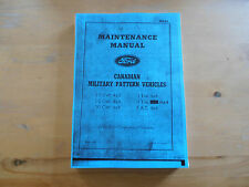 Veicoli Ford. CMP. MANUALE di manutenzione. mb-f1. GIUGNO 1943