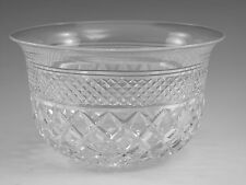 Thomas WEBB Crystal - RUSSELL Cut - Finger Bowl Glass / Glasses - 2 1/2""