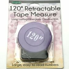"Sullivans 120"" Purple Retractable Tape Measure"