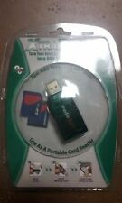 Xtra Drive Turn your SD / MMC Memory Cards into USB Thumb Drives Green