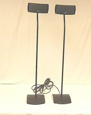 Bose AV 321 Series II DVD System Satellite Speakers With Stands And Cables Read!