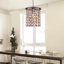 Crystal Chandelier Lighting Hanging Lamp Roof Ceiling Light Pendant Fixture Fas