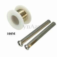 100M Golden Molybdenum Cutting Wire + Cut Handle Separator for Phone LCD Screen