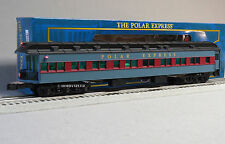 LIONEL POLAR EXPRESS SCALE HEAVYWEIGHT OBSERVATION CAR o gauge train 6-25576 NEW