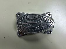 NOS Eddie Meyer dual triple carburetor stromberg 97 1932 ford hot rod fuel block