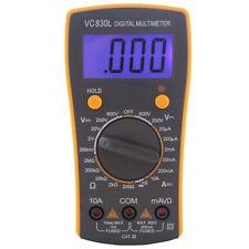 BEST VC830L LCD Display Digital Multimeter Volt Amp Ohm Meter Tester Tool