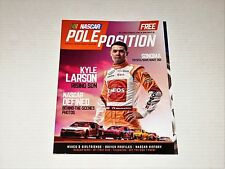 NASCAR Pole Position Racing Magazine June 2016 Issue Kyle Larson Tony Stewart ++