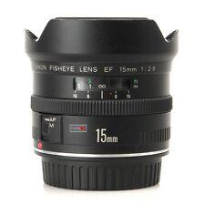 Canon EF 15/2, 8 Fisheye