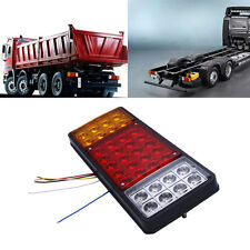 3 Colors Waterproof 12V Tail Light Rear Lamp Caravan For LED Truck Trailer Ute