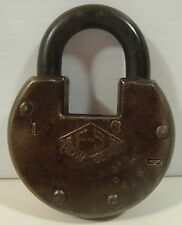 Antique Vintage F-S HDW Co. Old Padlock NO Key