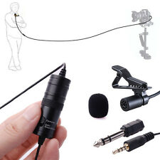 For BOYA BY-M1 Lavalier Condenser Microphone for Mobil Phone PC Video DSLR sc