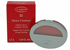 Clarins-MONO couleur - 03 totally Black-ombretto-ombre Yeux - 2,7g - NUOVO