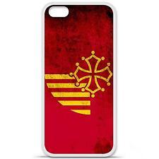 Coque housse étui tpu gel motif drapeau Languedoc Iphone 5C