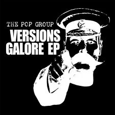 THE POP GROUP - VERSIONS GALORE EP - 180-GRAM - COLOUR VINYL - DOWNLOAD - SEALED